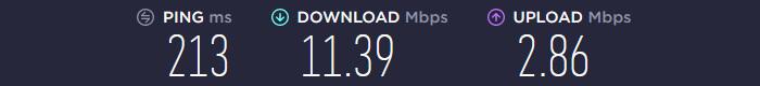 Ultrasurf VPN Speedtest US